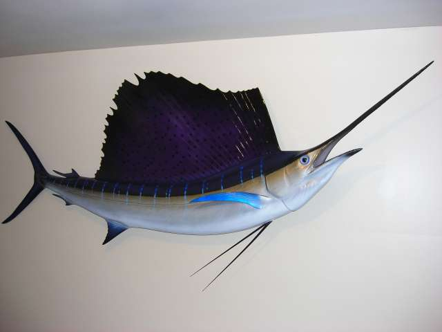 "Rich's 78"" Sailfish Mount"