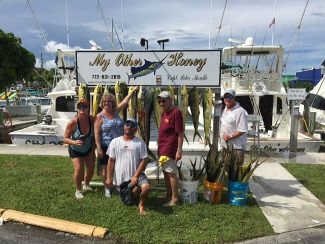 Mahi Mahi fishing Stuart Florida